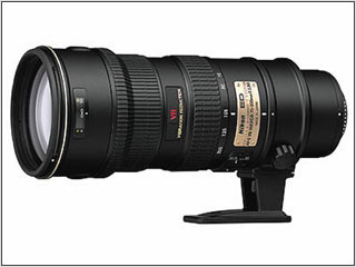 Nikon AF-S VR Zoom-NIKKOR 70-200mm Lens