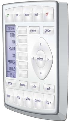Universal remote kp-900 rf