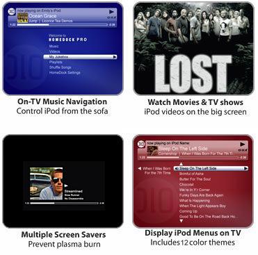HomeDock HD iPod