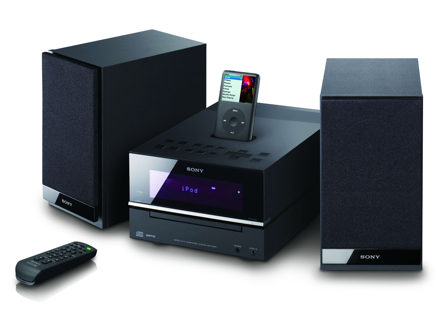 Sony CMT-Bx50i and CMT-Bx20i iPod