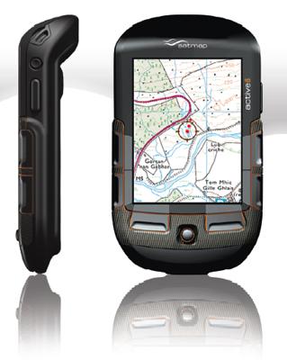 Satmap Active 10 portable handheld GPS device