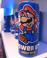 Super Mario Power-Up Energy Drink