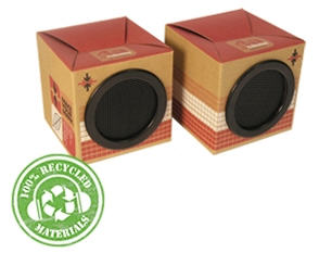 fashionation eco-speakers