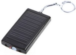 key solar size charger