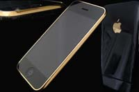 24K Goldstriker Black Night iPhone