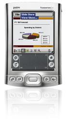 Palm tungsten E2 handheld PDA