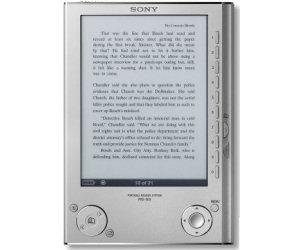 sony protable ebook reader