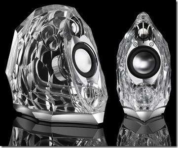 Harman Kardon GLA-55 glass speaker