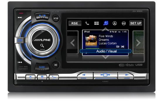Alpine iXA-W404 Touch-Screen Digital Media Receiver