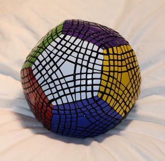 petaminx dodecahedral puzzle