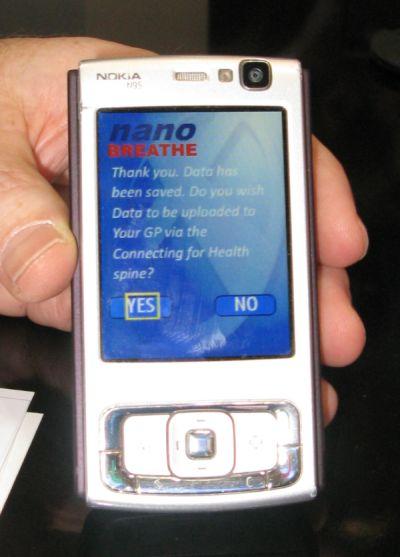 Nokia With Nano Breathe Technology