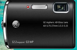 GE G3WP Waterproof Digital Camera