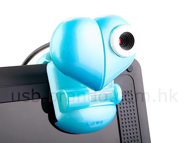 USB Heart Clip Webcam