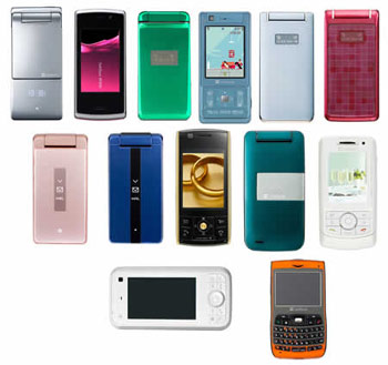 Japanese cellphones are not successful in the international market because of