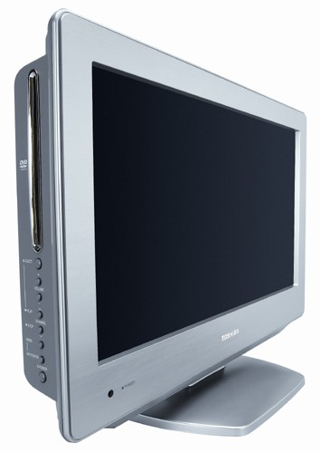 Toshiba Stainless Style LCD TV, the modern kitchen TV