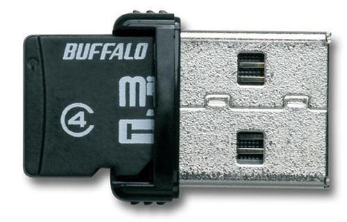Buffalo 16GB microSD card reader