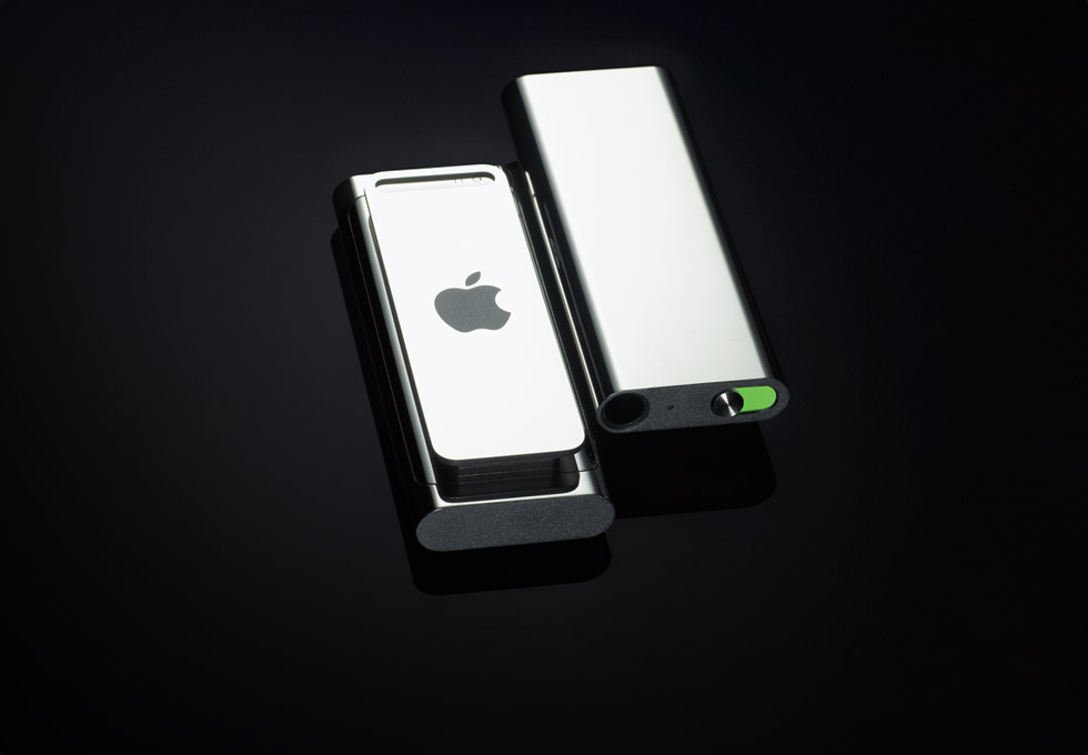 iPod Shuffle in Limited Edition Steel