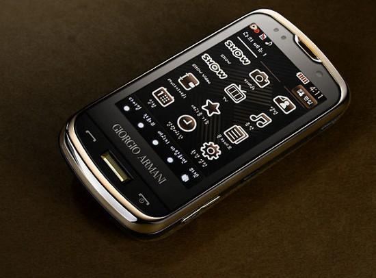 Samsung Armani SPH-W8200