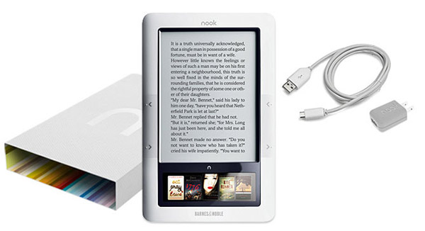 Barnes & Noble Nook e-book reader