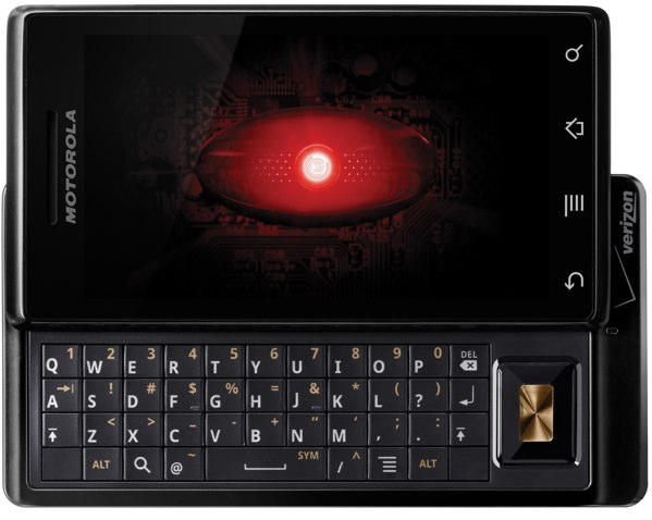 Motorola DROID, one of Gadget.com's recommended smartphone gifts for the holidays
