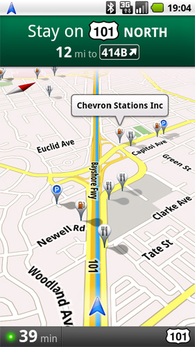 Google Maps Navigation Come to Android 1.6