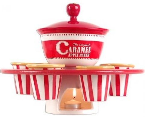 Caramel Apple Maker wit Heated Bowl