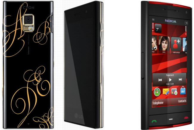 LG BL40 Christmas Edition Chocolate Phone