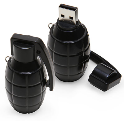USB Grenade Flash Drive