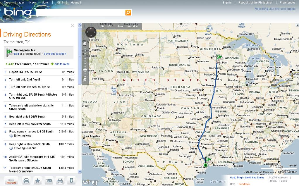 Bing Maps Beta