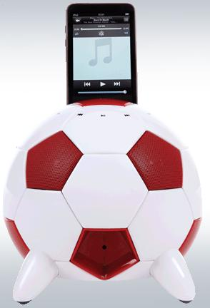 Speakal miSoccer iPod Dock