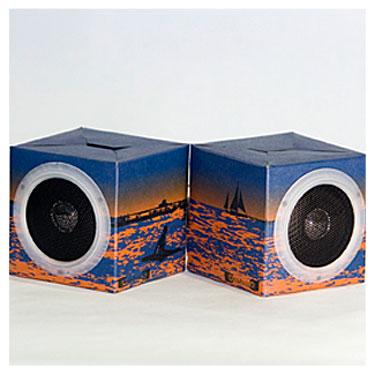 OrigAudio Folding Cardboard Speakers