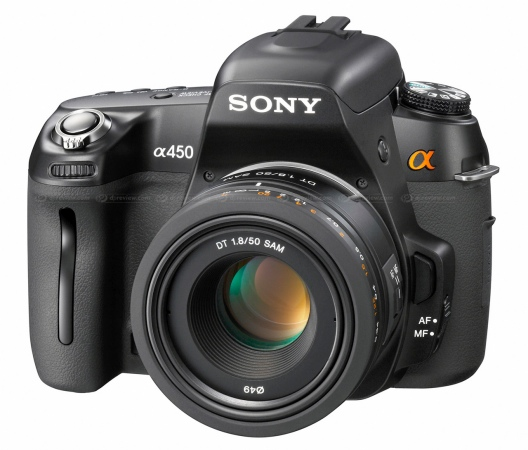Sony DSLR-A450 digital SLR camera