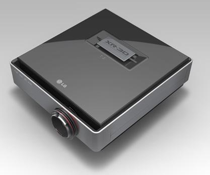 LG CF3D HD 3D Projector