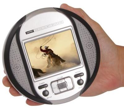 Palmsized DVD Player