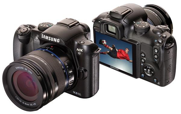 Samsung NX10 Hybrid DSLR Camera