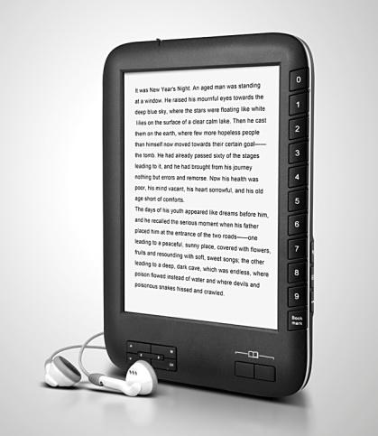 Owen E1 e-book reader