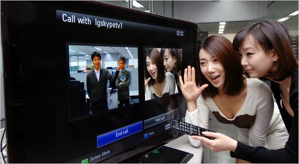 Skype on HD TV
