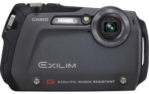 Casio EX-G1 shock-resistant digital camera