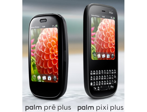 Palm Pre Plus and Palm Pixi Plus