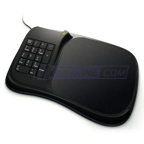 Meritline 3 in 1 Numeric Keyboard Mouse Pad Mat with 3 USB Hub