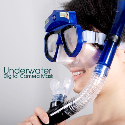 Etronixmart Underwater Digital Camera Mask