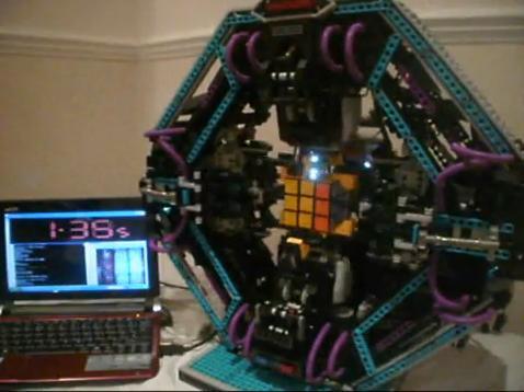 Lego CubeStormer