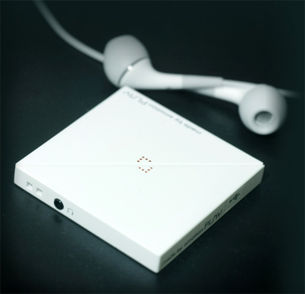 Play MP3 Player from Yanko Design