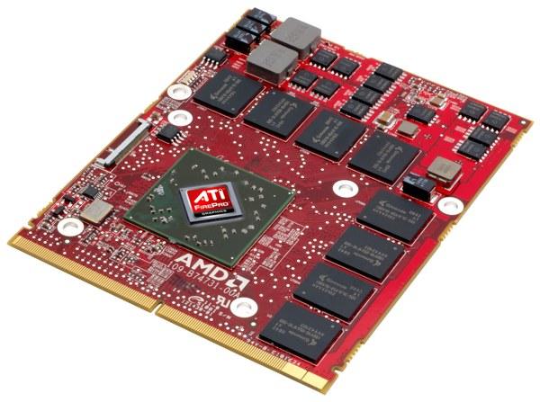 ATI FirePro M5800 graphics accelerator