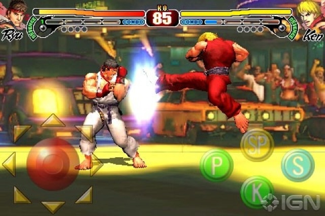 Street Fighter IV on iPhone