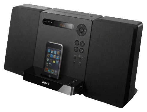 Sony CMTLX40I with iPod Dock