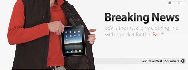 ScotteVest Travel Vest with iPad Pocket