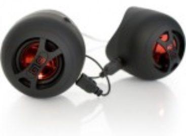 Dual Cylinder Travel Speaker