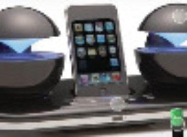 Speakal iCrystal iPhone Dock Speakers