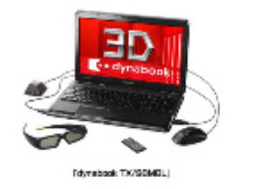 Toshiba's Dynabook TX/98MBL Laptop Offers Blu-ray 3D Support